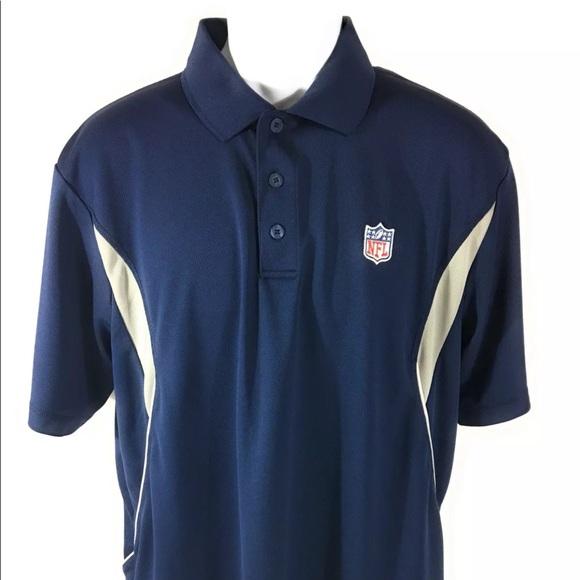 Nfl Shirts Team Apparel Mens Short Sleeve Logo Polo Poshmark